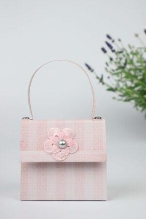 Handtasche, Lavendel, rosa, Deko, Geschenkverpackung, Verpackung, Geldverpackung,