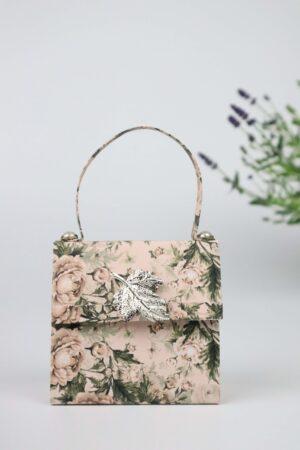 Handtasche, Lavendel, Rosen, rosa, Deko, Geschenkverpackung, Verpackung, Geldverpackung,