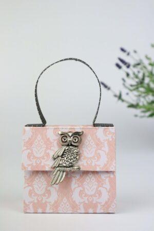 Handtasche, Lavendel, weiß, rosa, Deko, Geschenkverpackung, Verpackung, Geldverpackung,