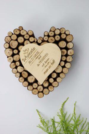 Holz, Herz, Natur, Äste, Heim, Zuhause, Haus, Deko