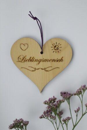 Lieblingsmensch, Herz, Holz, Zirbe, Zirbenholz