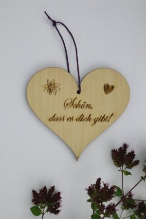 Herz, Holz, Zirbe, Zirbenherz,