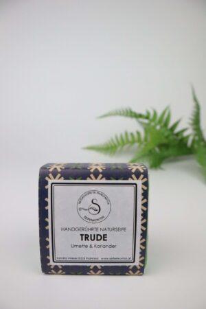 Trude, Limette, Koriander, Duft, frisch, herb, Naturseife, Seife, Hände, Limette, Koriander, Trude