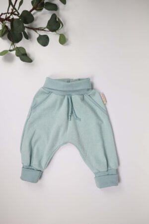 Mitwachshose, Hose, Baby, Babykleidung, Jungs, Jungskleidung, Baumwolle, blau