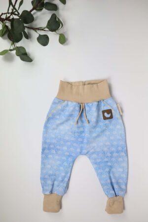 Hose, blau, jeanssweat, Regenbogen, beige, hellblau, jungs, mädchen