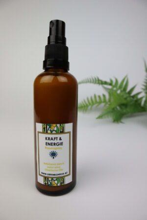 Spray, Wohlfühlspray, ätherische Öle, Kraft, Energie, Konzentration