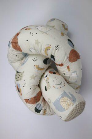 Tier, Tiere, Bär, Elefant, Giraffe, Luftballon, Stern, kuscheln, Bettschlange, Bett, Baby, Babybett, Wickeltisch