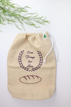 Brotbeutel, Beutel, Brot, Leinen, nachhaltig, Nachhaltigkeit, natürlich, Natur, nachhaltig verpacken, zero waste