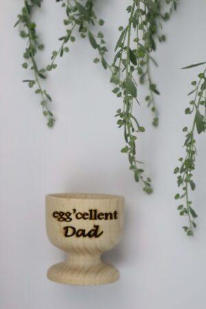 Dad, Vater, excellent, eggcellent, Ei, Eier, Eierbecher, Becher, Frühstück,