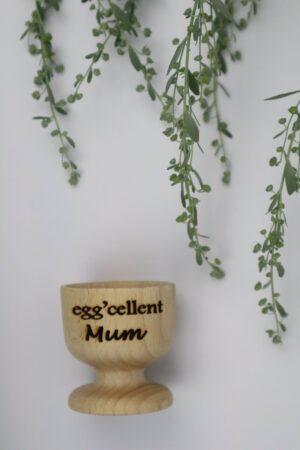 Mum, Mama, Mutter, eggcellent, exzellent, Ei, Eier, Eierbecher, Becher, Frühstück,