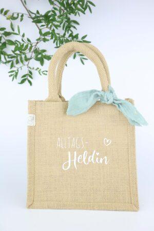 Geschenktasche, Geschenktasche, Tasche, Jutetasche, Geschenkverpackung, Geschenk, nachhaltig, natur, natürlich, Kleinigkeit